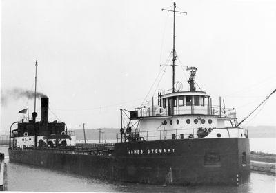 JAMES STEWART (1926, Bulk Freighter)