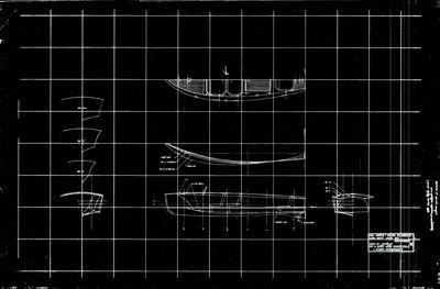Hull Surface & General arrangement for Chris Craft Model 730