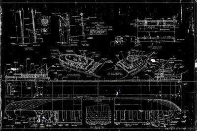 Model Plans for the Bulk Freighter WILFRED SYKES (1949)