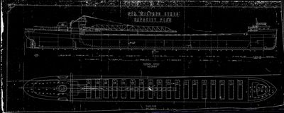 Capacity Plan for WILFRED SYKES (1949)