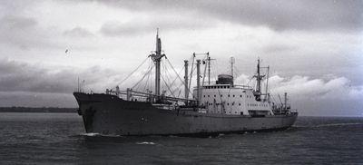 THORFRID (1957, Ocean Freighter)