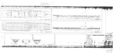 Booklet of General Plan for U.S.S. WOLVERINE (1942) (nee SEEANDBEE (1912))