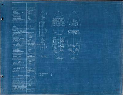 Hold Plan for MACGILVRAY SHIRAS (1904)