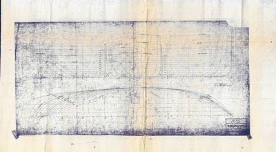 Hull Lines for HURON (1914), Hull No. 132