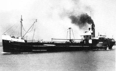 TOURNEUR (1919, Ocean Freighter)