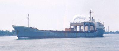 TUNADAL (1967, Ocean Freighter)