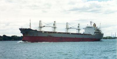UNION PIONEER (1984, Ocean Freighter)