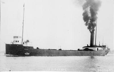 URANUS (1901, Bulk Freighter)