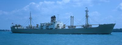VALETTA (1957, Ocean Freighter)