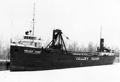 VALLEY CAMP (1927, Bulk Freighter)
