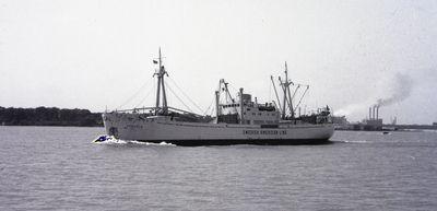 VAXHOLM (1956, Ocean Freighter)