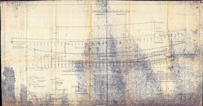 Framing Plan for No. 91 S.S. Tug [ESSAYONS (1908)]