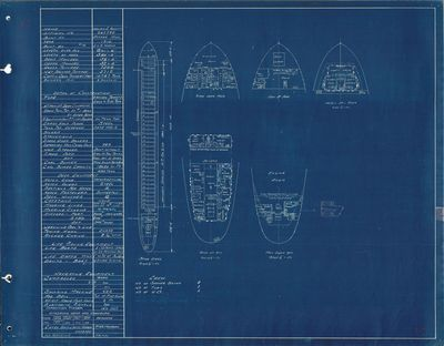 Hold Plan for WILLAIM J. OLCOTT (1910)