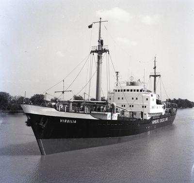 VIRGILIA (1957, Ocean Freighter)
