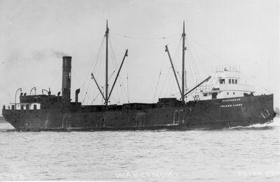WAHCONDAH (1903, Bulk Freighter)