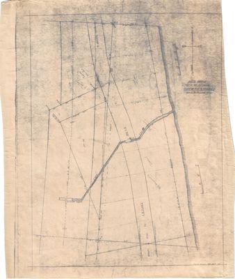 Sketch Showing a Part of T30 N R8 E Sec 35