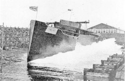 WAR FISH (1917, Bulk Freighter)