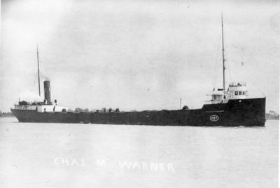 CHARLES M. WARNER (1903, Bulk Freighter)