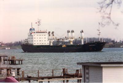 WARTANES (1992, Ocean Freighter)