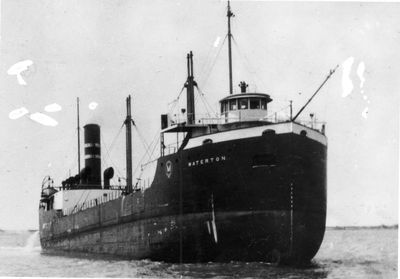 WATERTON (1928, Bulk Freighter)