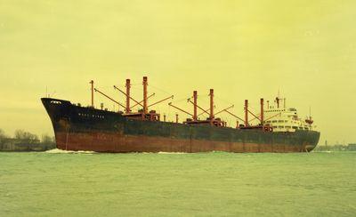 WEST RIVER (1962, Ocean Freighter)