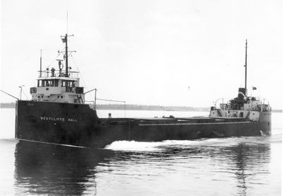 WESTCLIFFE HALL (1956, Bulk Freighter)