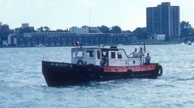 J.W. WESTCOTT II (1949, Tug (Towboat))