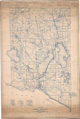 Master Conservation Plan for Cheboygan County, Michigan (1938)