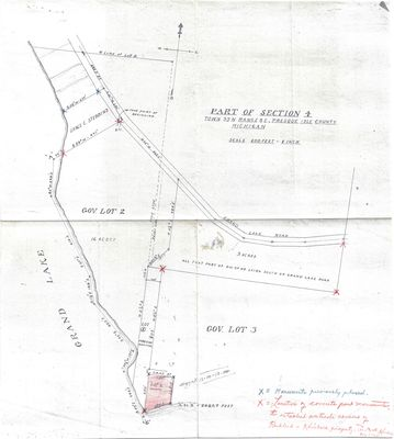 Part of Section 4 Town 33 N. Range 8E., Presque Isle County, MI (1944)