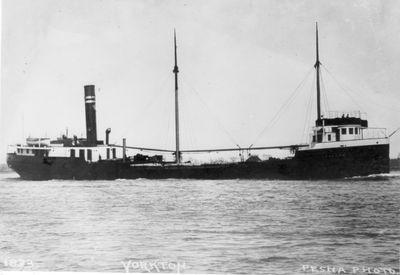YORKTON (1911, Bulk Freighter)