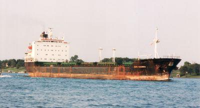 ZIEMIA TARNOWSKA (1984, Ocean Freighter)