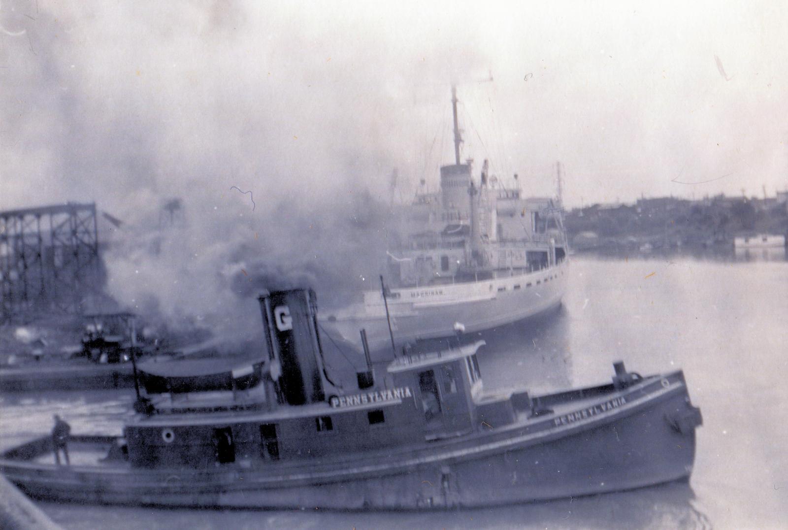 PENNSYLVANIA (1911, Tug (Towboat))