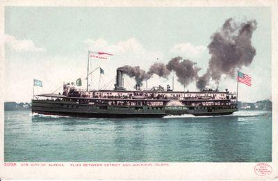 304 Steamer CITY OF ALPENA