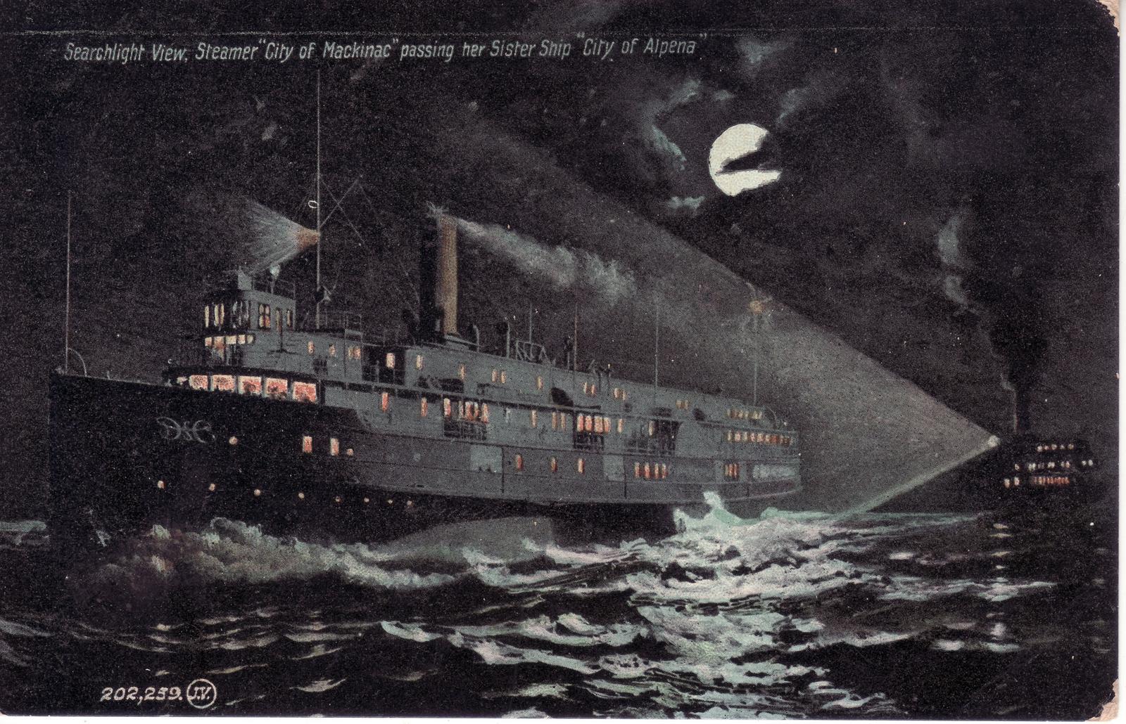 305 Steamer CITY OF ALPENA