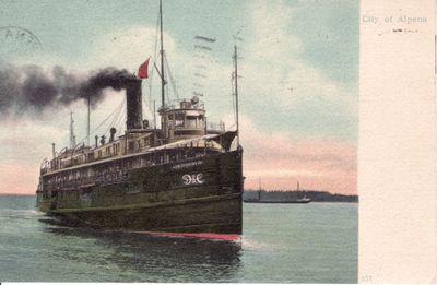 307 Steamer CITY OF ALPENA