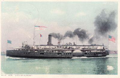 309 Steamer CITY OF ALPENA