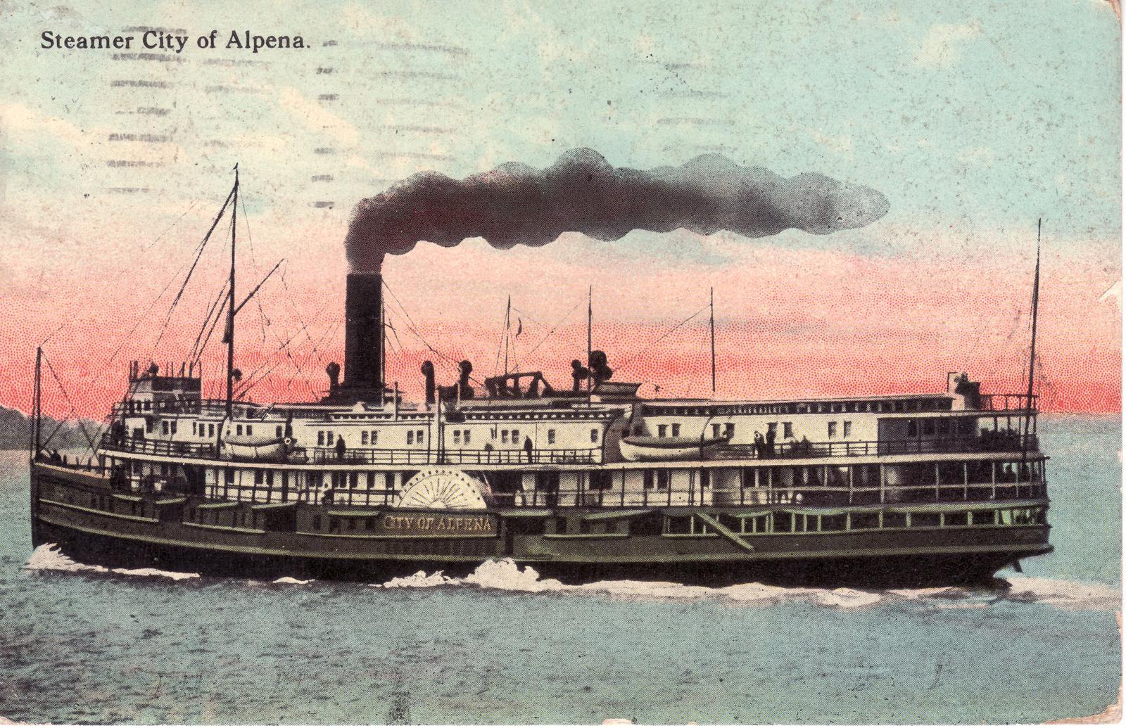 312 Steamer CITY OF ALPENA