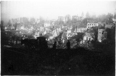 079 European town destruction