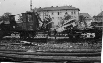 100 Train car destruction
