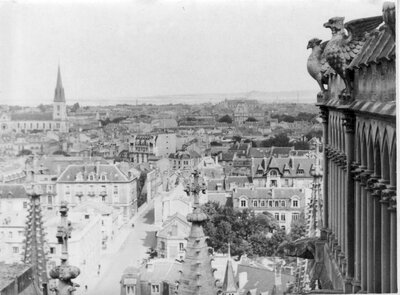 105 Aerial of Reims, France