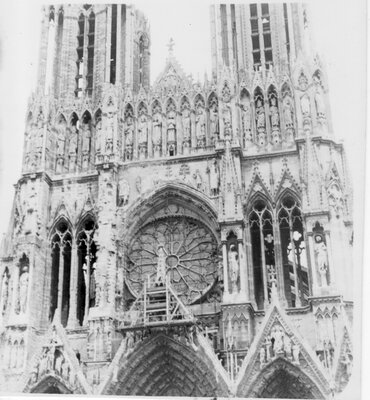 115 Notre-Dame Cathedral, Reims, France