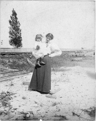 Laura and Bernice Holmes