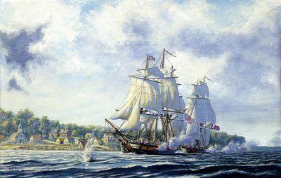 Bombardment Of Fort Detroit
