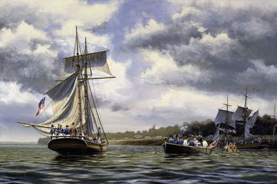 Capture Of The Cuyahoga