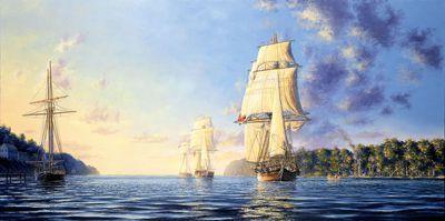 Dawn Arrival, 1812