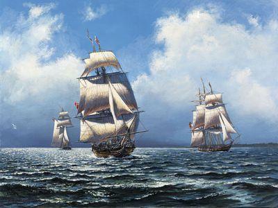 Lake Erie Patrol, 1812