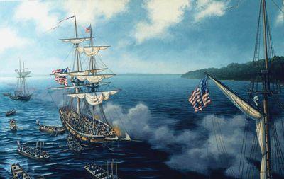 American attack on Mackinac, 1814