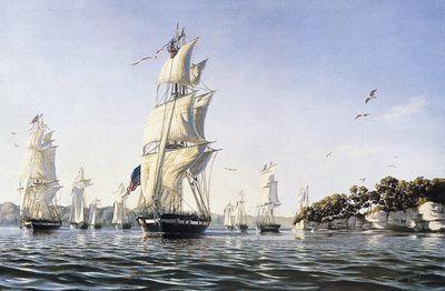Perry's Fleet, 1813