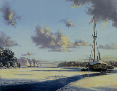 Winter at Put-In-Bay, 1813