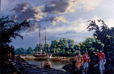 Retreat along the Thames